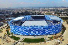 Soccer Stadium, Football Soccer, Jorge Bravo, Stadium Architecture, Football Mexicano, Premier League Table, The Sandlot, World Football, Madrid