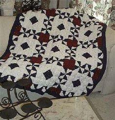 Happy Yellow House.com - Diamonds & Wheels Crochet Quilt - by C. L. Halvorson ~ free pattern