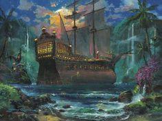 The Duel, James Coleman. Sponsored Disney fine artist. What an epic job.