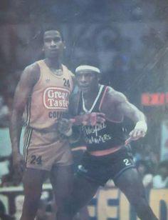 Billy Ray Bates vs Norman Black  #PBA Billy Ray, Sport Icon, Manila, Norman, Ph, Basketball, Baseball Cards, Retro, Sports
