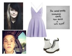 """""""Matthew"""" by bananathecockatiel ❤ liked on Polyvore featuring AX Paris and Dr. Martens"""