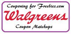 Walgreens Coupon Matchups 7/27 - 8/2 - http://couponingforfreebies.com/walgreens-coupon-matchups-727-82/
