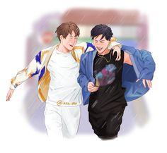 By @iezz-art in Tumblr ~ #몬스타엑스 #MonstaX #Monbebe #Wonho #Hyungwon #ShinHoSeok #Shownu #Kihyun #I.M #Jooheon #Minhyuk #Starshipentertainment #Fanart #MonstaXArt