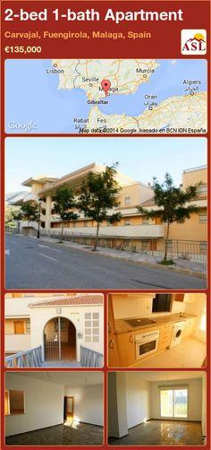 2-bed 1-bath Apartment in Carvajal, Fuengirola, Malaga, Spain ►€135,000 #PropertyForSaleInSpain