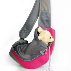 Pet Dog Cat Puppy Carrier Shoulder Bag Sling Feature: BreathableMaterial: NylonCLICK HERE FOR MORE G