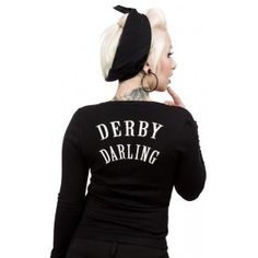 Roller Derby Cardigan I really want this!!!!!!  I gotta remember to join a Derby team...its on my bucket list