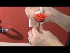 How to make a rose out of buttercream icing.