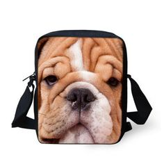 Cute Kids Bag. School Bags For KidsDog SchoolMessenger Bag MenCasual ... d070c4407cf43