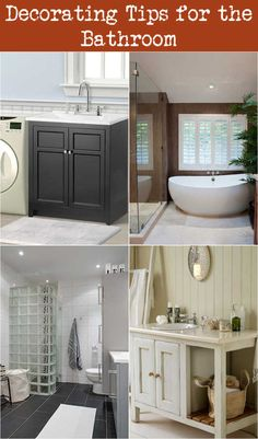 A tidy, properly designed washroom might come to be a shelter when you just wish to relax inside the bathtub. Enhancing a washroom and also becoming it arranged Decor, Decorating Tips, Bathroom Colors, Bathroom Decor, Bathrooms Remodel, Bathroom Items, Diy Bathroom Design, Beach Theme Bathroom, Bathroom Design