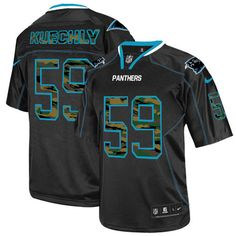 Camo Fashion Nike NFL Carolina Panthers #59 Luke Kuechly Limited Black Men's Jersey