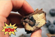 Protein Pow: Blueberry and Vanilla Protein Bars