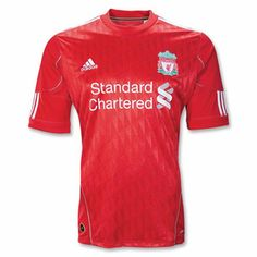 Liverpool's 2011-2012 Home Jersey