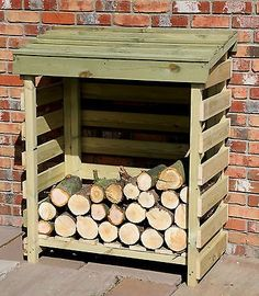 Shed Plans - Log Store - Fire Wood Storage - Log Hut | eBay - Now You Can Build ANY Shed In A Weekend Even If You've Zero Woodworking Experience!