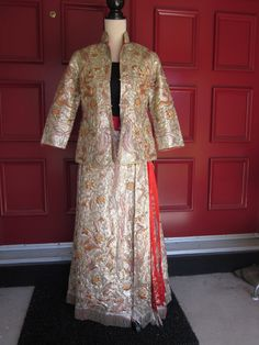 Hand Made Vintage Chinese Wedding Suit With Forbidden by aimeelie