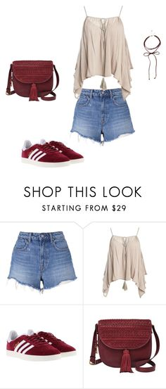 """""""A walk to remember!"""" by mireille-a ❤ liked on Polyvore featuring T By Alexander Wang, Sans Souci, adidas, FOSSIL and Dorothy Perkins"""