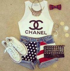 Conjunyo Of Chanel (Conjunto De Chanel)