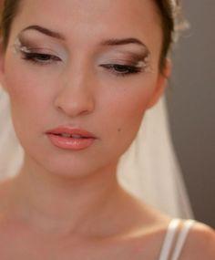 Романтичный, креативный свадебный макияж