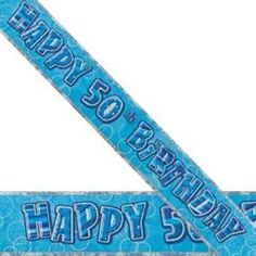 - Birthday Banner Banner Happy Birthday Glitz Blue foil Please note: approx. Happy 16th Birthday, Happy 30th, Happy Birthday Banners, 70th Birthday, Birthday Greetings, Blue Birthday, Party Banners, Birthday Party Decorations, Decoration Party