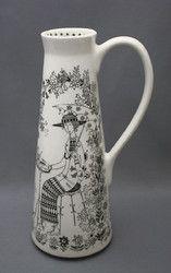 Vase / From Arabia of Finland, 'Emilia' design by Raija Uosikkinen. Ceramic Tableware, Ceramic Pottery, Ceramic Art, China Painting, Marimekko, Old Antiques, Scandinavian Design, Fine Art Photography, Art Decor