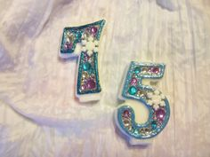 I love these number candles.  Hey, I found this really awesome Etsy listing at https://www.etsy.com/listing/177756141/frozen-birthday-candle