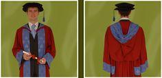 PhD Gown - Brighton Uni