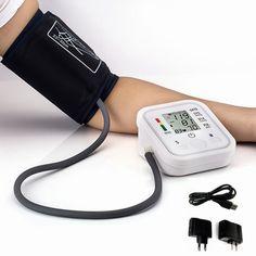 Bras pression artérielle bp moniteur tonomètre hematomanometer tensiomètre pulsometros moniteurs de soins de santé pour coeur nonvoice