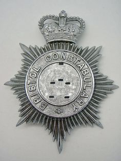 Bristol Constabulary Helmet Plate Badge