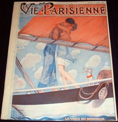 Georges Pavis (1886 – 1977). La Vie Parisienne, 2 Août 1930. [Pinned 27-v-2015]