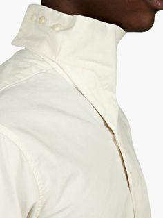Rick Owens DRKSHDW Men's Milk Island Duster Shirt   oki-ni
