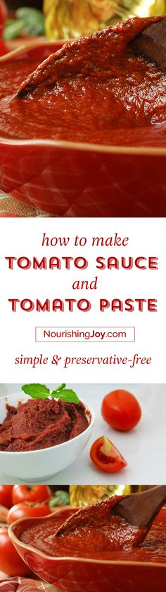 Knowing how to make homemade tomato sauce and how to make tomato paste can make…