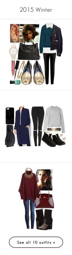 """""""2015 Winter"""" by valley411 ❤ liked on Polyvore featuring Dr. Denim, American Eagle Outfitters, Brooks Brothers, Filù Hats, Michael Kors, Forever 21, Eva Fashion, Kate Spade, Olivia Burton and MICHAEL Michael Kors"""