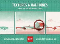 Ever wondered how you can create texture through screen printing? DKNG is here to help! Amazing can't wait to try #screenprinting #design #skillshare