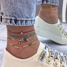 Check link in bio to shop💋💋💋 . Check link in bio to shop💋💋💋 . Ankle Jewelry, Ankle Bracelets, Cute Jewelry, Jewelry Accessories, Women Jewelry, Fashion Jewelry, Anklet Designs, Ankle Chain, Accesorios Casual