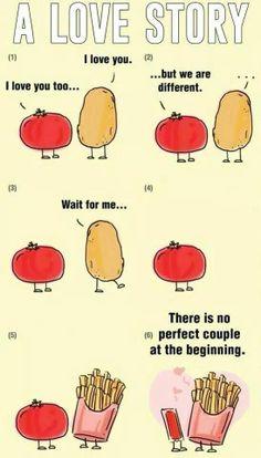 A cute love story...