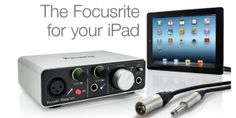 Focusrite iTrack Solo - 2×2 USB Audio Interface for iPad, PC & Mac   СТАРА ЦЕНА : 11.600,oo ден  НОВА ЦЕНА : 9.800,oo ден  * -Two-channel audio interface for iOS devices, Mac, and PC -Focusrite mic preamp with phantom power gives you open and detailed recordings -Direct instrument input makes it easy to record your guitar or bass -Aluminum unibody design is rugged for dependable portable use -Up to 24-bit/96kHz resolution with your desktop computer Mac, PC, iOS devices