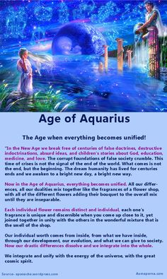 What does Age of Aquarius mean? What lies ahead for Humanity?