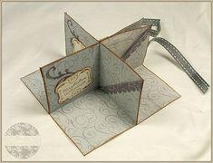 Mini-Albumkarte / Einsteckalbum mit Workshop / Anleitung Pop-Up Corner Minialbum