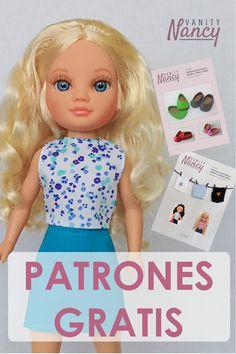 Vestidos Nancy, Nancy Doll, Collector Dolls, Doll Clothes, Samara, Disney Princess, Disney Characters, Fashion, Crochet Doll Clothes