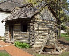 "Wood ""siding"" where white siding is. Google Image Result for http://www.ahmuseum.org/aboutthemuseum/buildings/logcabin/LogCabin.jpg"