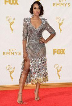 Kerry Washington aux Emmy Awards 2015