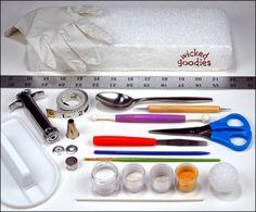 Cake Sculpting Tools