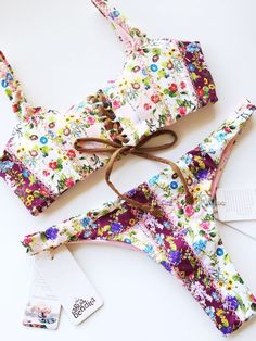 NEW Agua Bendita Swimwear Bendito Meadow Bikini Set Size S Bathing Suit Colombia    eBay