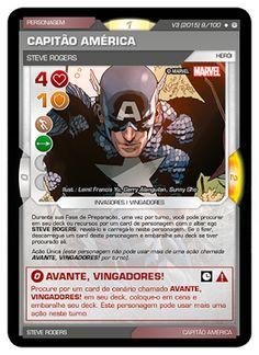 Fabian Balbinot - MagicJebb: Marvel Battle Scenes - Um novo Capitão América sur...