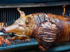 The Ultimate BBQ is a whole roast pig. And if its done right one of ...