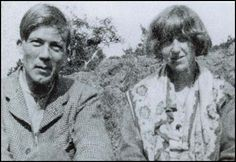 The author Gerald Brenan, had a brief affair with Dora and was on the fringe of the Bloomsbury group for a while ...