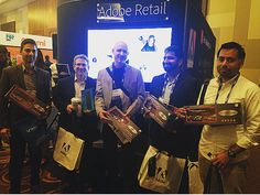 Winners at the Adobe Retail Booth! #adobe #adoberetail #shoptalk16 #winning #adobemarketingcloud @adobe