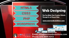 You Can Make Your Creative #Website Through Us at Cheapest Website Call: 079 4005 4313