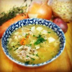 Chicken Soup For the recipe, please visit my blog http://stathiskitchenart.blogspot.com/2013/07/chicken-soup.html