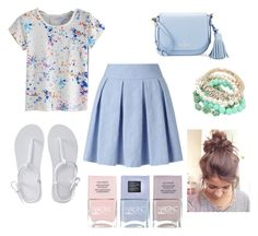 """""""Untitled #82"""" by xheartit101 on Polyvore featuring Miss Selfridge, Aéropostale, Kate Spade and Nails Inc."""