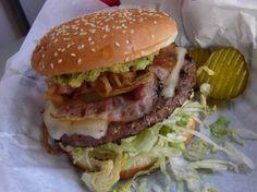 Do a big mac without the bun....yum!